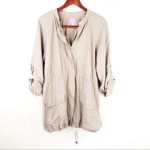 Stitch Fix | Market & Spruce Zip Jacket Khaki L